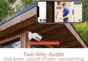 oscar 2 home security camera, outdoor security camera