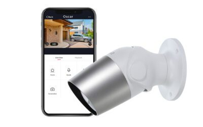 Outdoor security camera for home