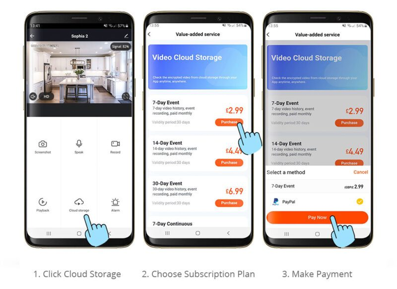 How to subscribe to Clan Cloud Storage
