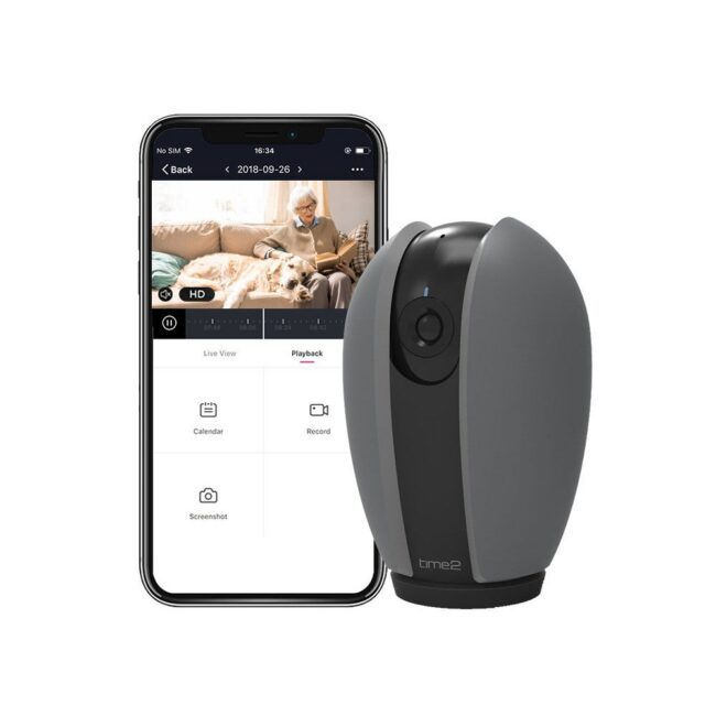 Indoor-rotating-security-camer-home-cctv